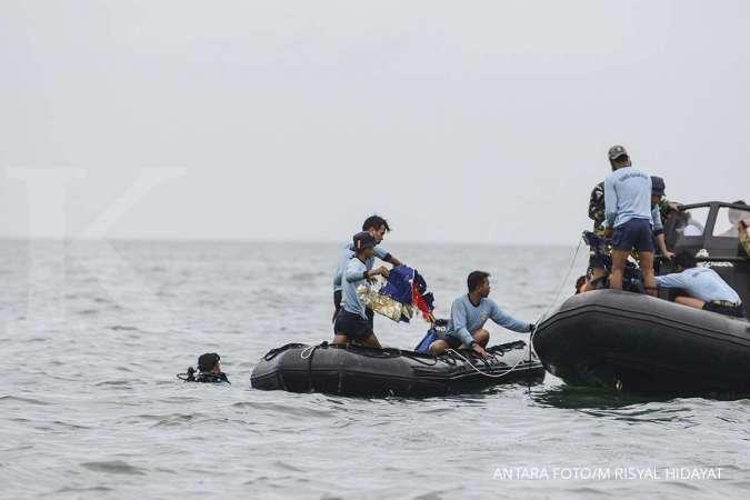 Kotak hitam Sriwijaya air SJ 182 terdeteksi, ada pada kedalaman sekitar 17-20 meter