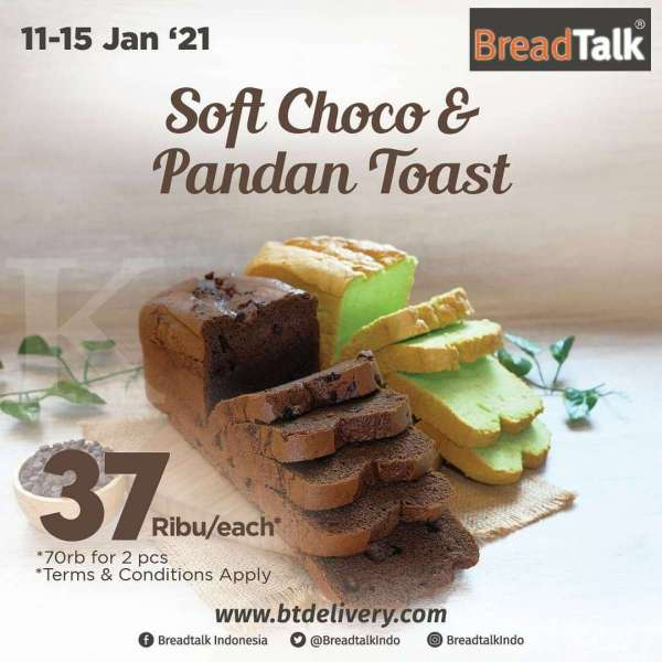 Promo terbaru BreadTalk hari ini