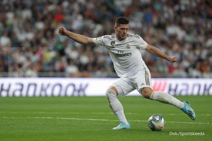Luka Jovic akan absen kembali di laga Real Madrid vs Bilbao di Piala Super Spanyol