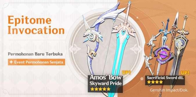 Event permohonan Epitome Invocation - Genshin Impact