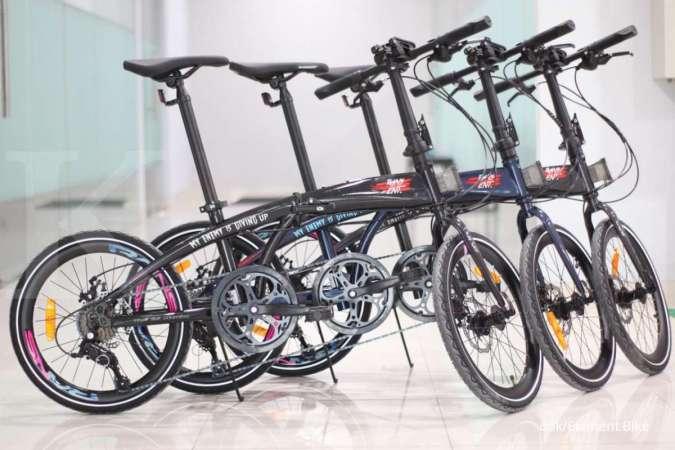 Bisa dibeli mulai besok, ini harga sepeda lipat Police Milan X Rans Entertaiment