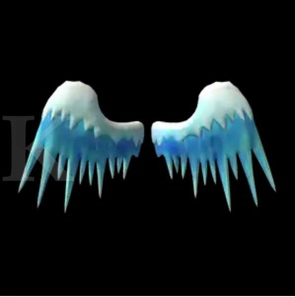 Snow Covered Ice Wings