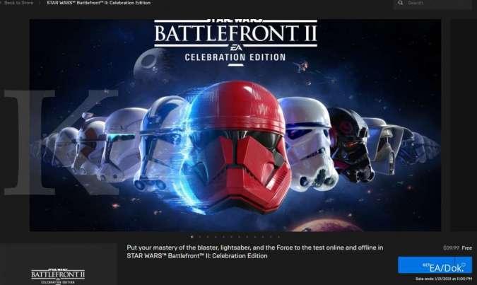 Star Wars Battlefront 2: Celebration Edition - Epic Games Store