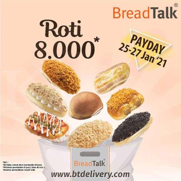 Promo BreadTalk 25-27 Januari 2021
