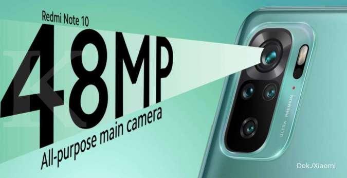 Xiaomi Redmi Note 10 resmi diperkenalkan, dengan layar Super AMOLED dan kamera 48 MP