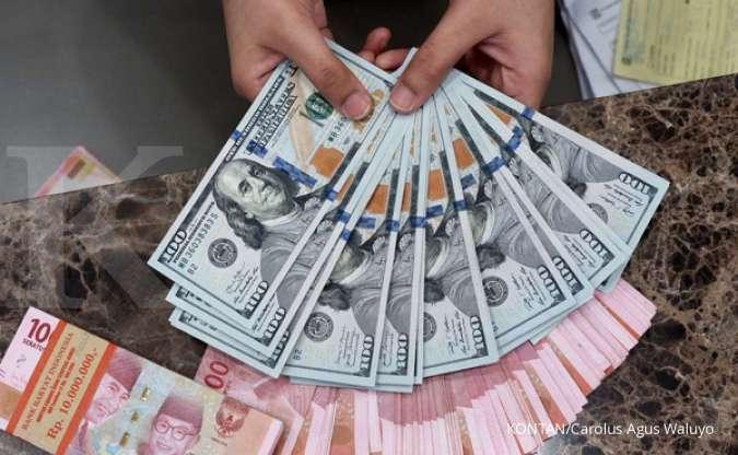 Kurs dollar-rupiah di Bank Mandiri hari ini Senin 12 April 2021