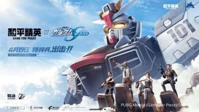 ILUSTRASI: Game For Peace (PUBG Mobile versi China) yang dirilis Tencent