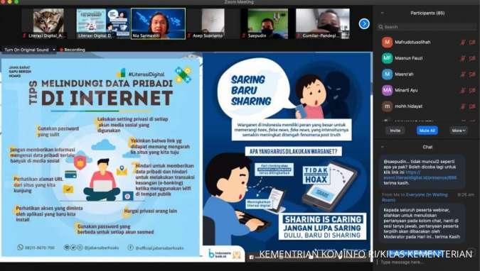 Puluhan Ribu Situs Berpotensi Sebarkan Misinformasi, Perlu Tingkatkan Kewaspadaan