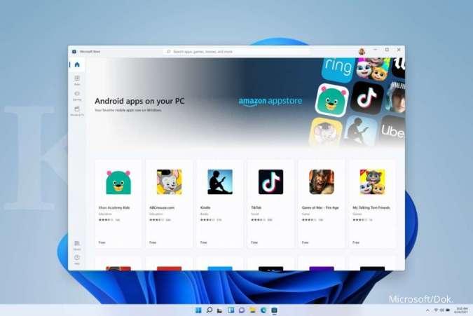 Aplikasi Android di Windows 11