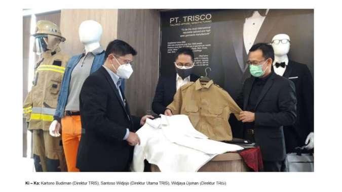 TRIS Terima Order Ekspor Garmen di Masa Pandemi Covid-19