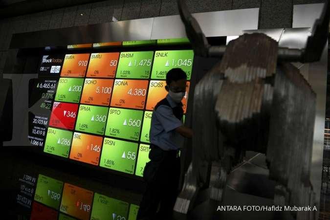 Harga saham PGAS & BUMI kompak menghijau di perdagangan bursa Kamis (14/10)
