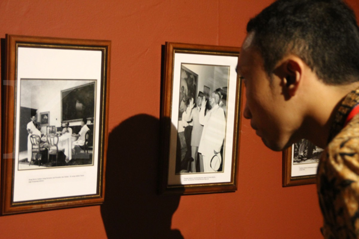 Pameran Lukisan Bersejarah Istana Presiden
