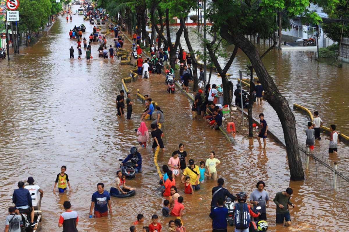Banjir Ibukota di awal 2020