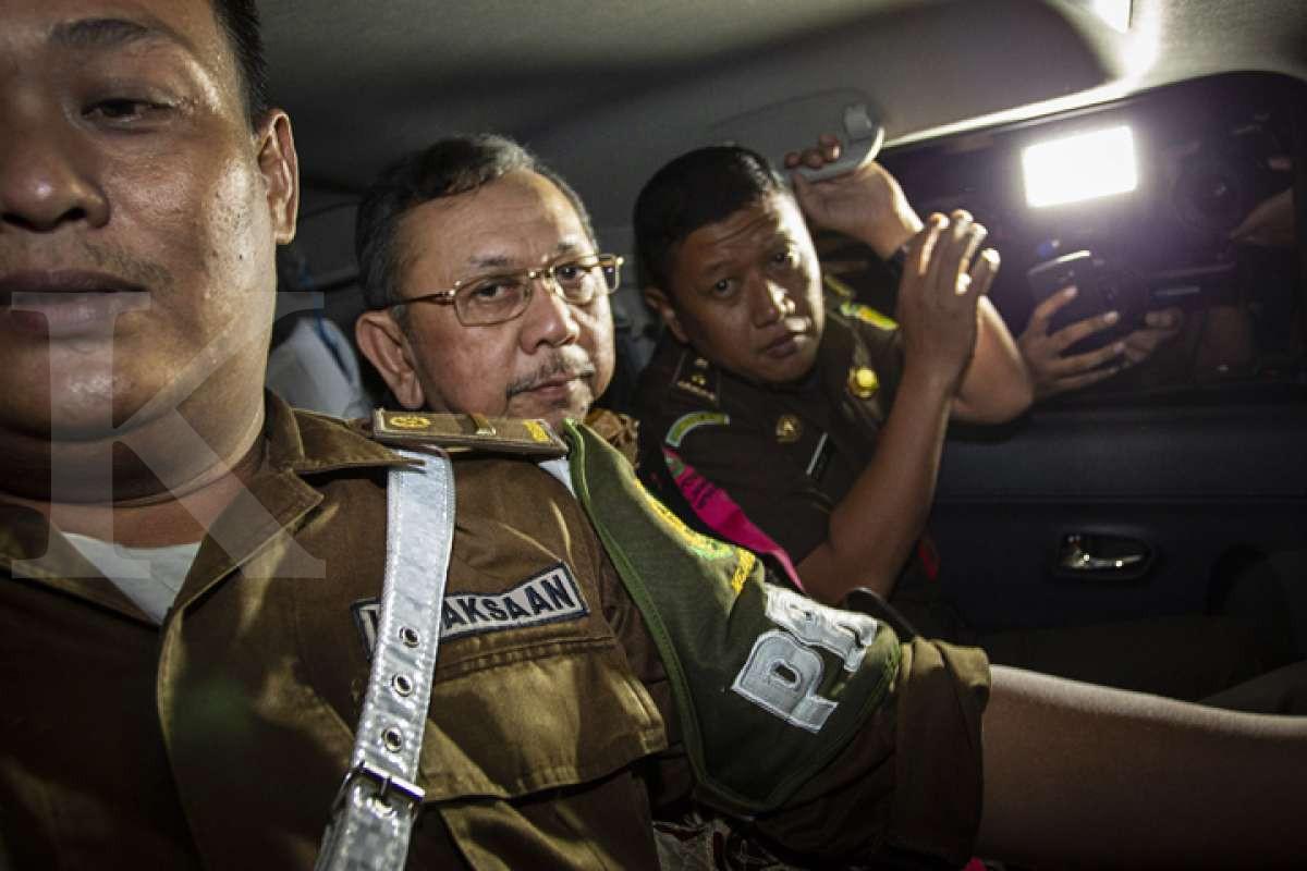 Penahanan para tersangka kasus Jiwasraya