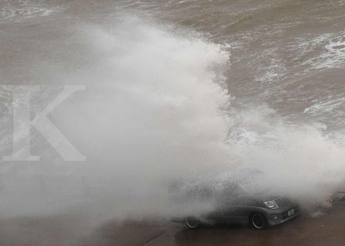 Badai Ciara landa Inggris Raya