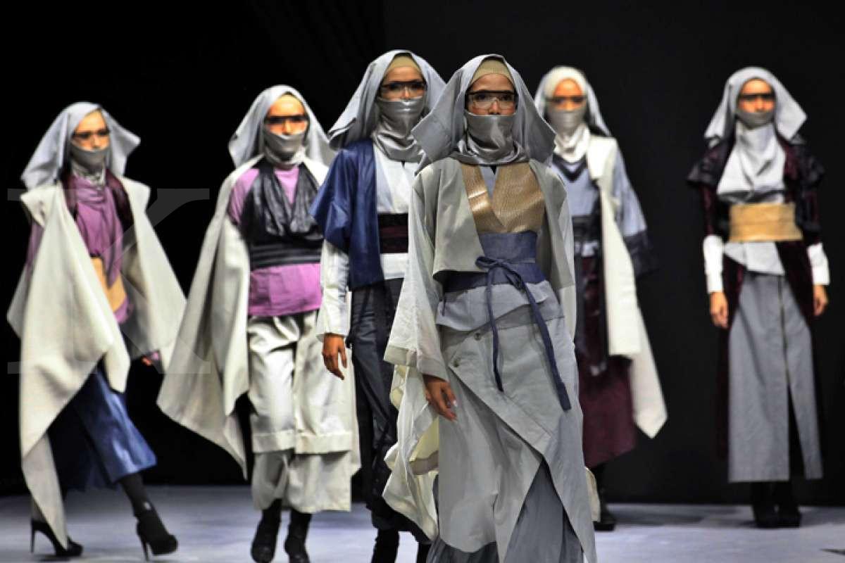 Fesyen berkelanjutan pada Muslim Fashion Festival