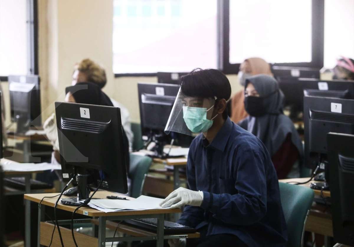 Protokol kesehatan peserta Ujian Tulis Berbasis Komputer (UTBK) 2020