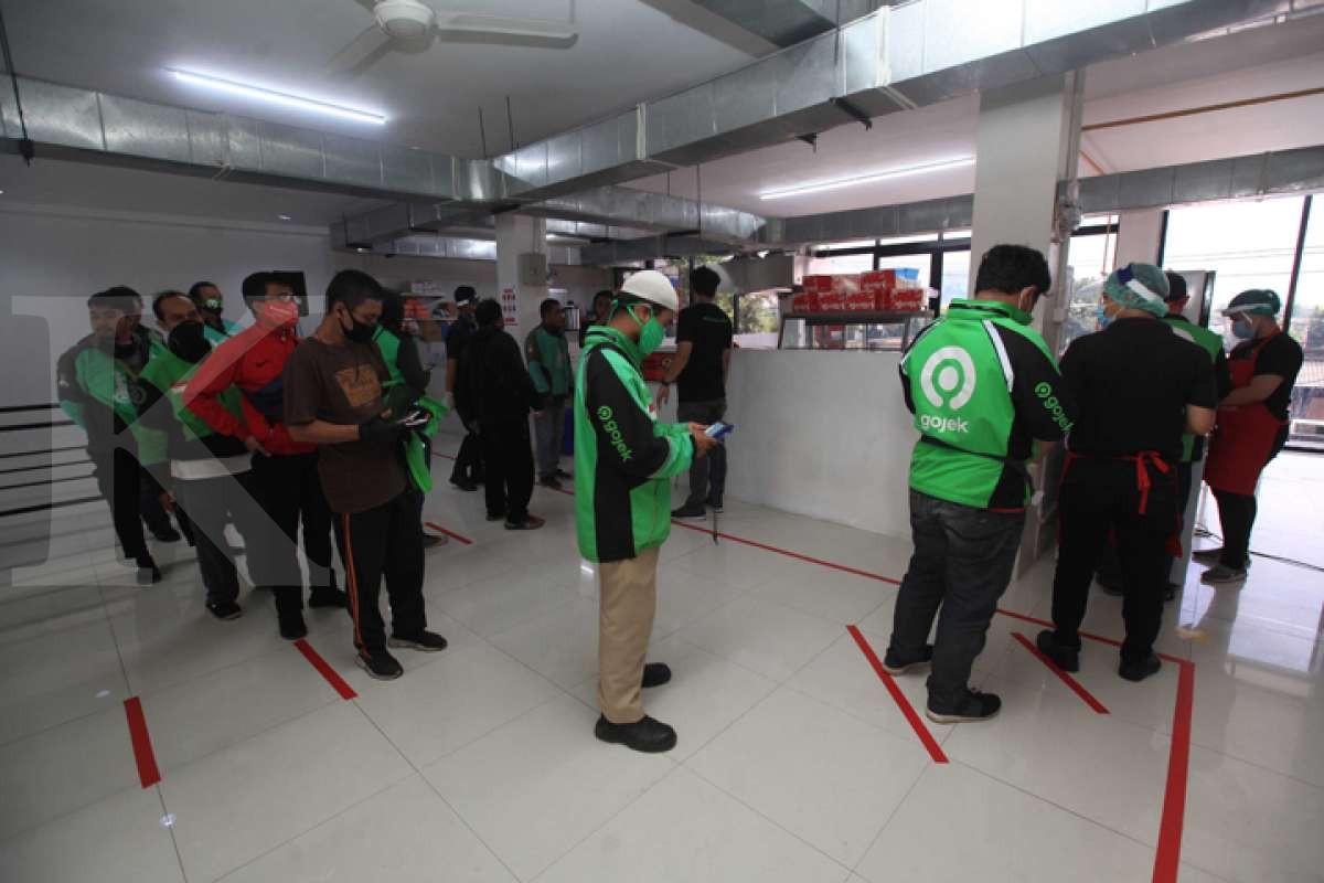 Peningkatan transaksi UMKM kuliner di Dapur Bersama GoFood