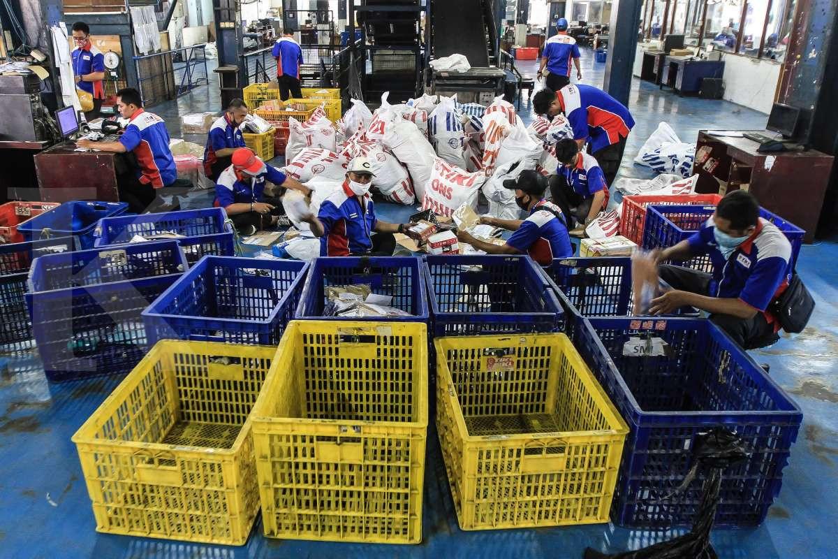 Volume pengiriman barang Tiki meningkat saat pandemi