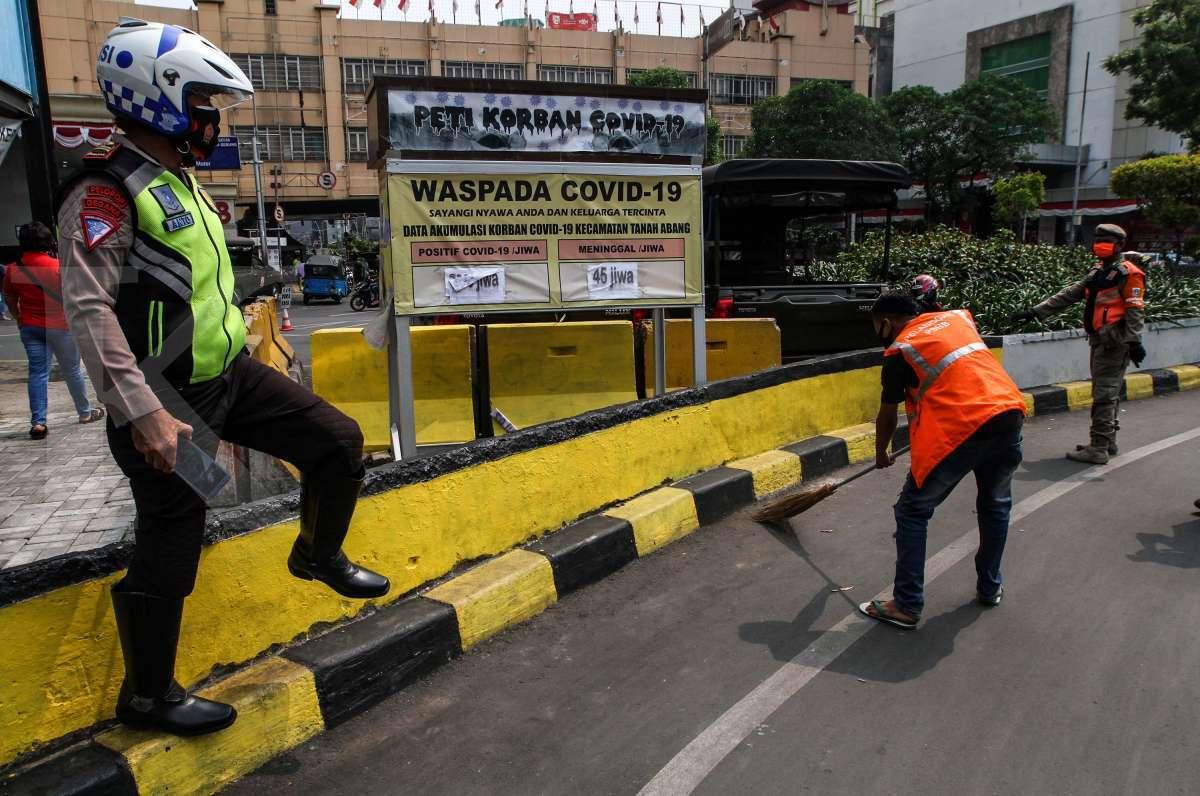 PSBB Jakarta, titik operasi yustisi diawasi 24 jam