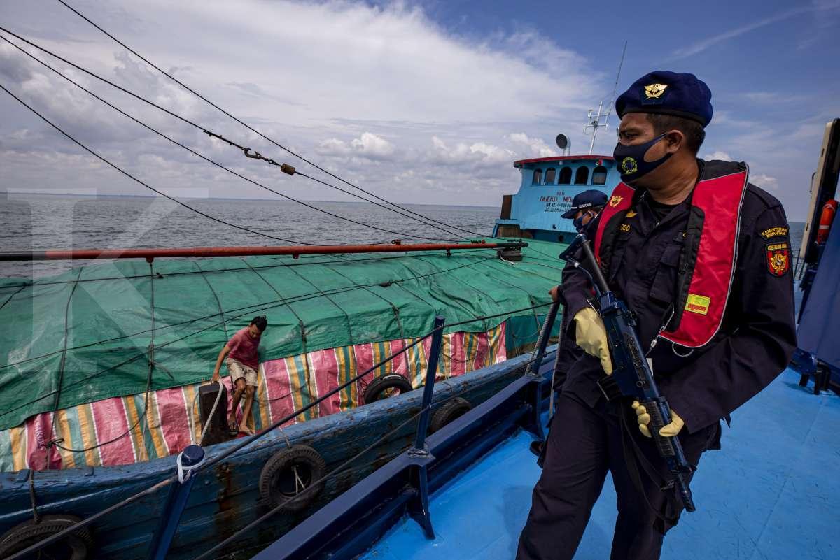 Patroli laut Bea dan Cukai melawan kejahatan fiskal