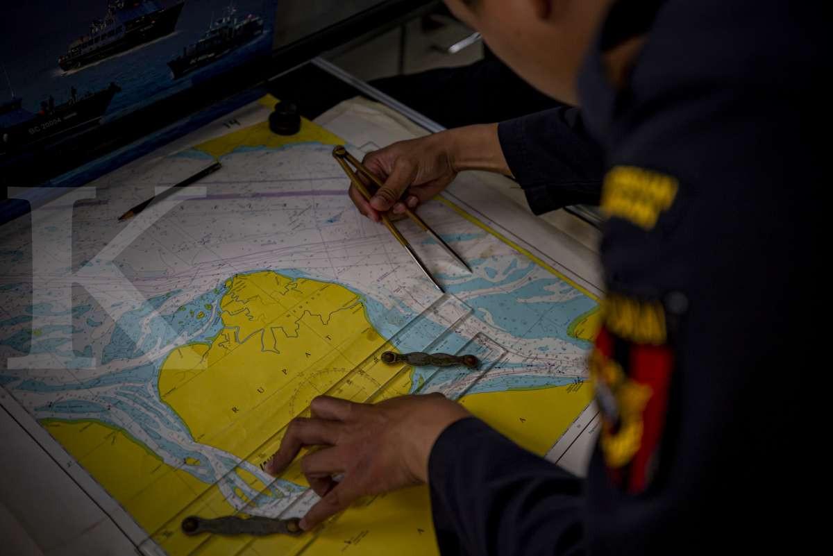Peta alur pelayaran