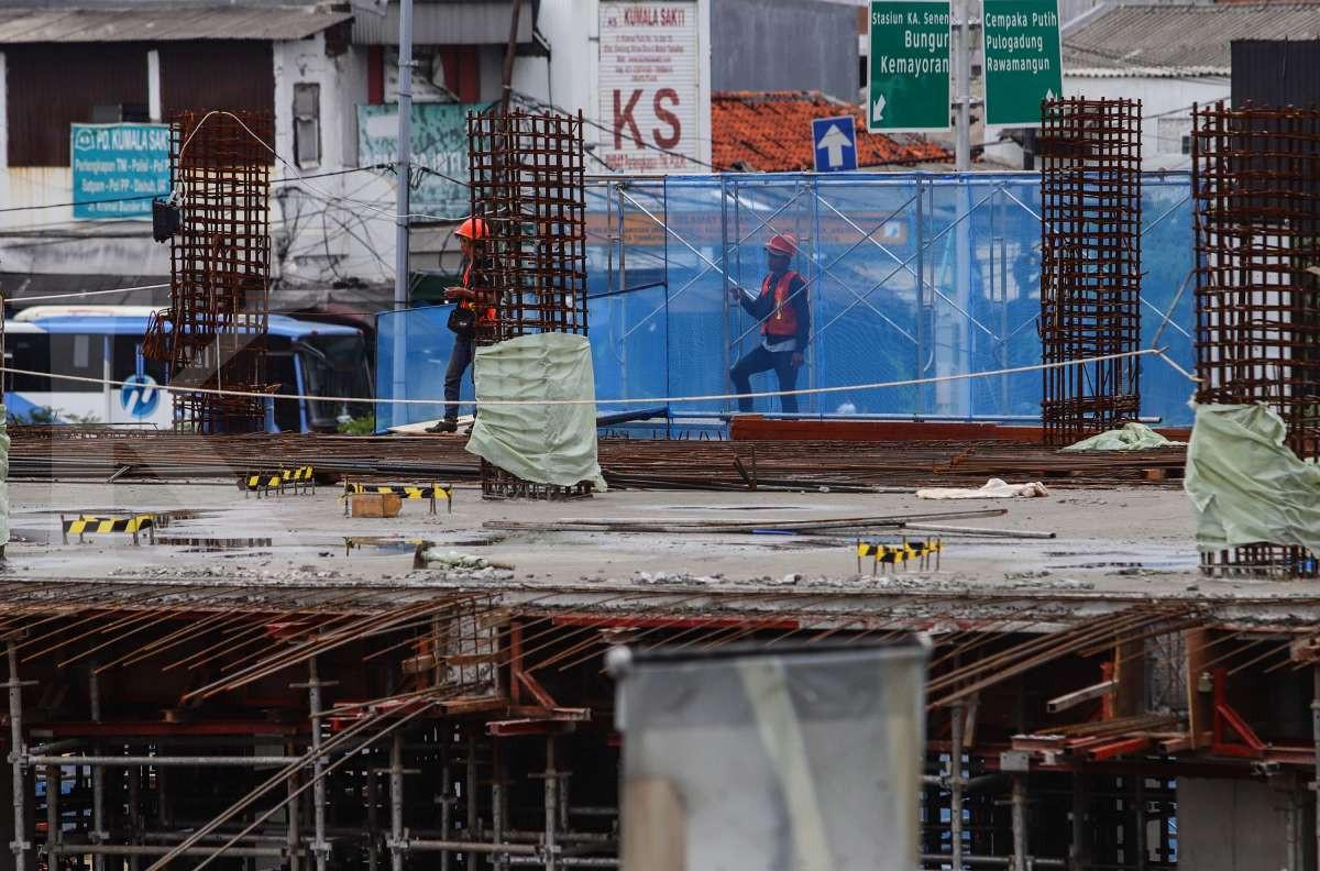 Pembangunan gedung pasar